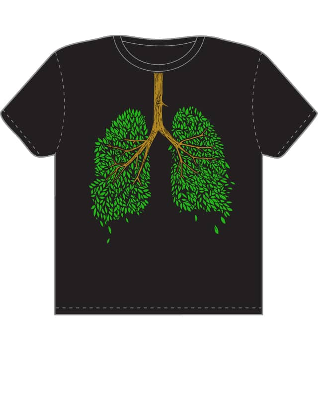 Lung Tree by sethdesign on Threadless