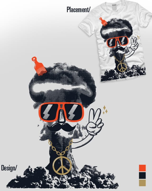 Bomb, James Bomb. by Nico.v on Threadless