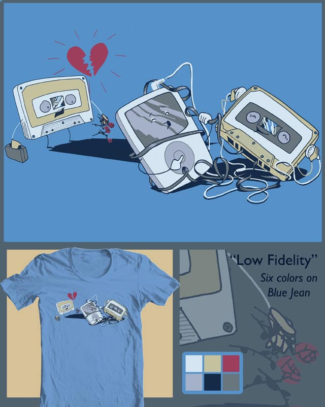 Low Fidelity by robbielee on Threadless