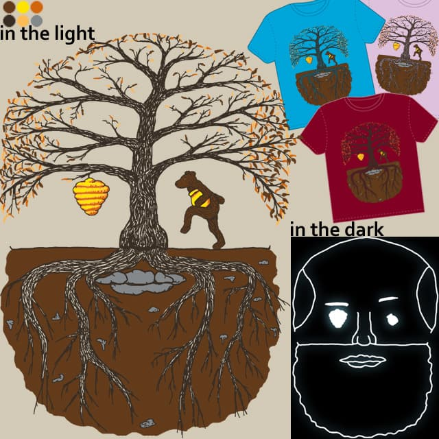 Tree Face by the loose seal on Threadless