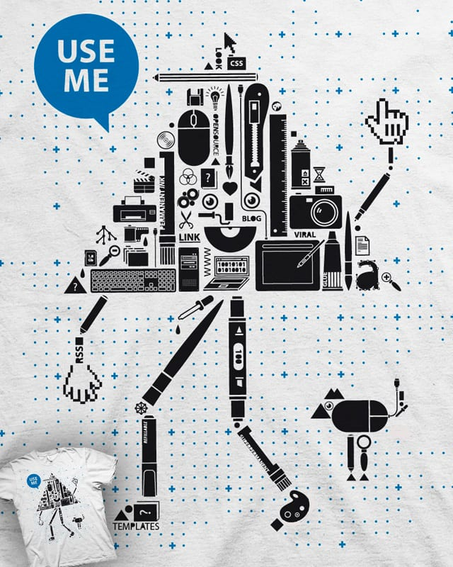 MR. Tool by TheW on Threadless
