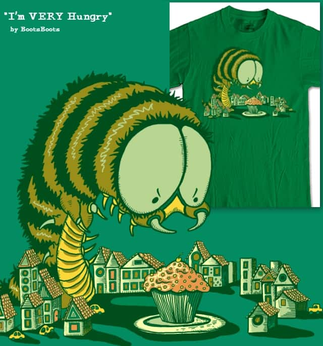 I'm Very Hungry by BootsBoots on Threadless
