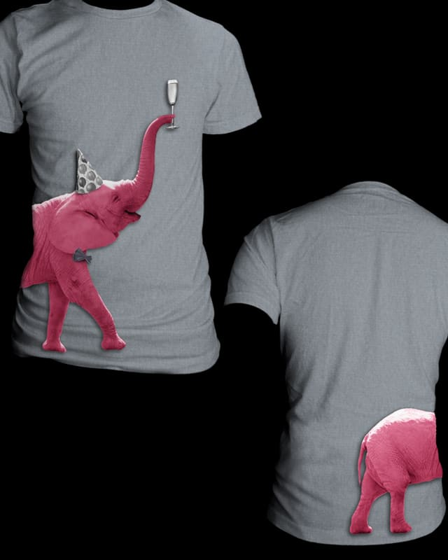 pink *hic* elephant by mooseXing on Threadless