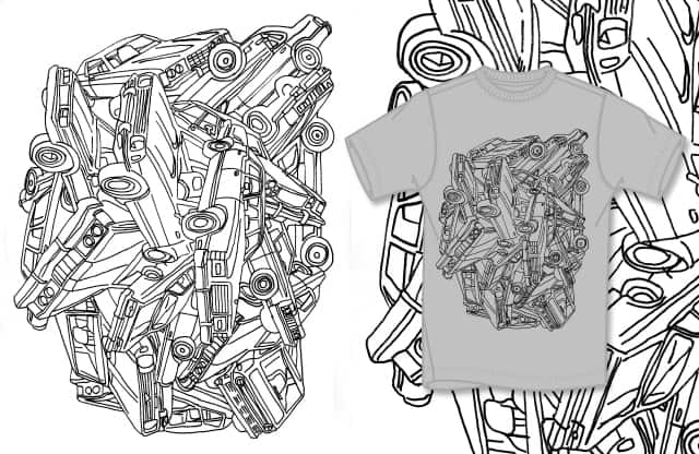 wheels and rust by murraymullet on Threadless