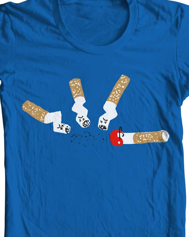smoking is dangerous! by bsweber on Threadless