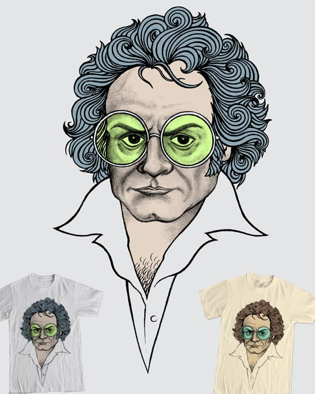 A Fifth of Beethoven by csharron on Threadless
