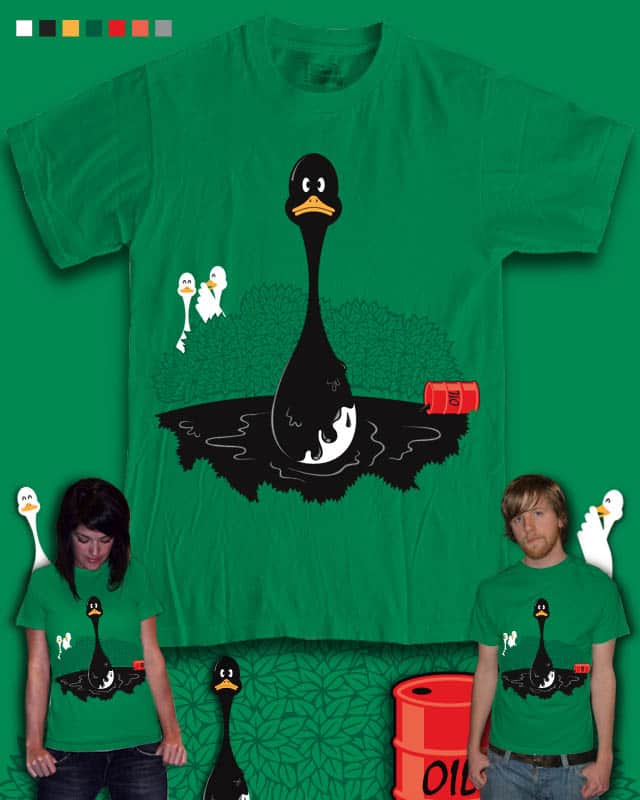 Ugly Duckling??? by Risdiansah on Threadless