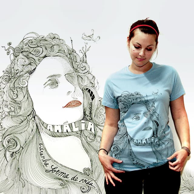Amália Rodrigues by romd19 on Threadless