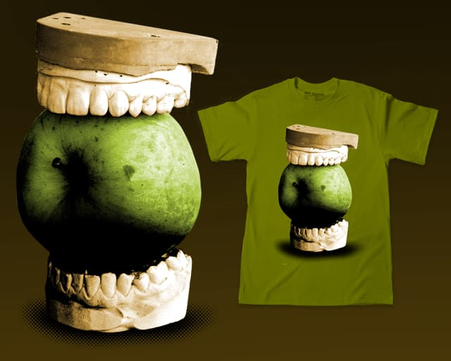 An apple a day keeps the doctor away by sustici on Threadless