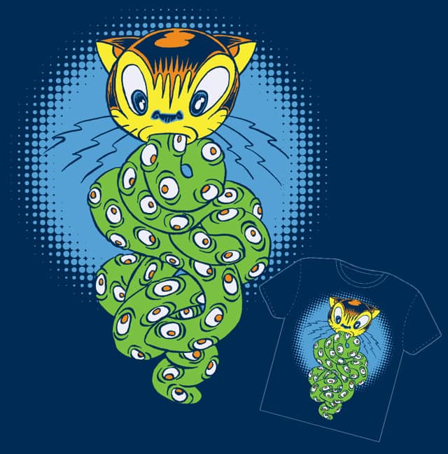 kittyeyetentacles by catgarza on Threadless