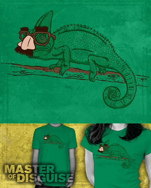 Master of Disguise by WanderingBert on Threadless