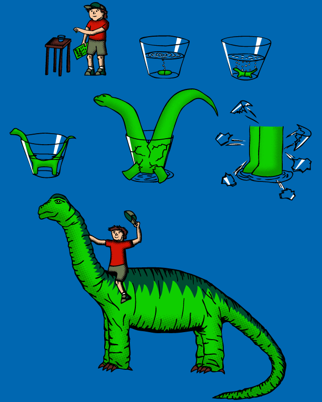 Dino Grow by Resistance on Threadless