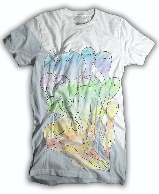 Ghosts of art and colours past by randyotter3000 on Threadless