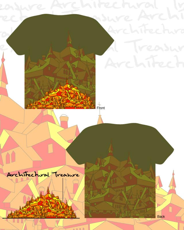 Architectural Treasure by BK SMOOTH on Threadless