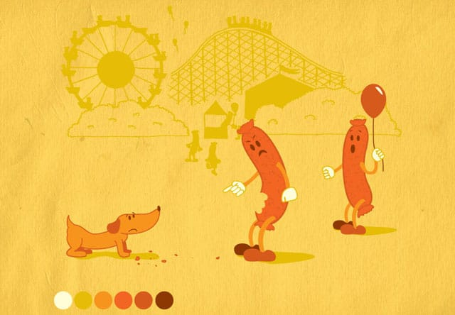 No Weenies at the Sausage Festival by dannodepf on Threadless