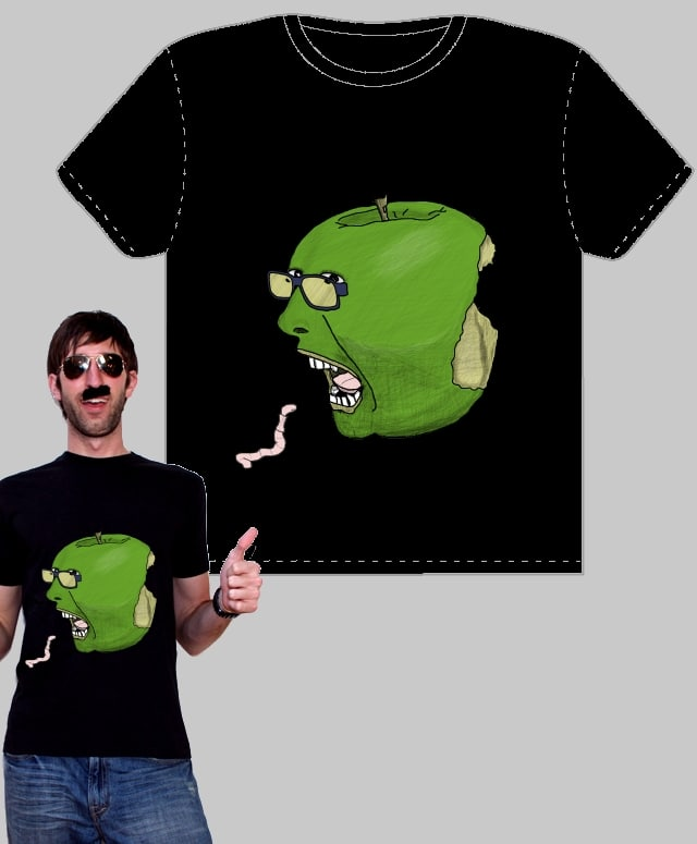 Crunchy! Sour! OWW! by hadjisman on Threadless