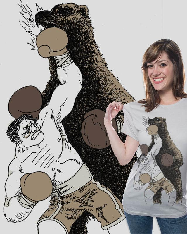 bear boxing by ISABOA on Threadless