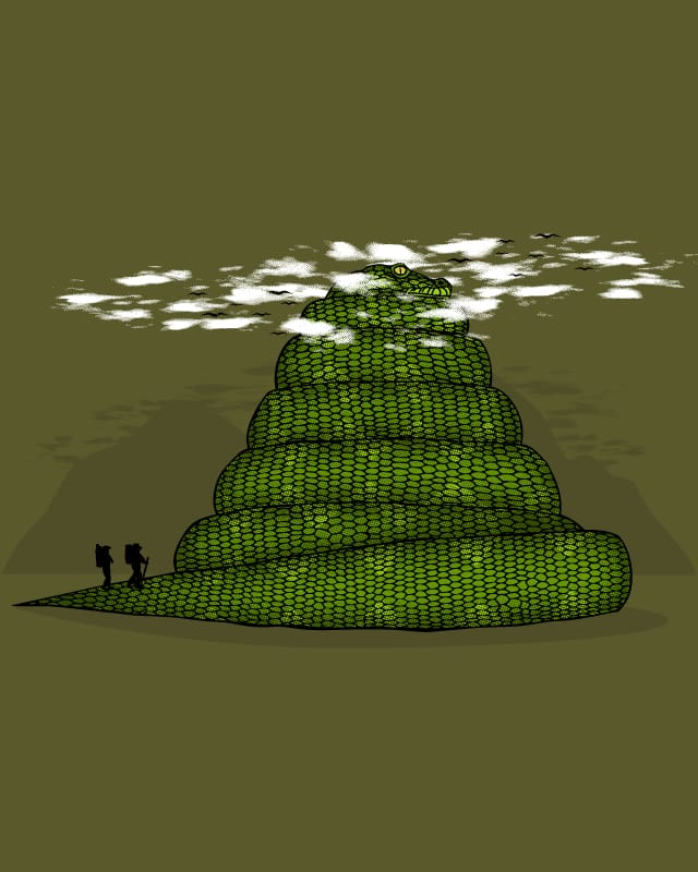 Snake Mountain by Resistance on Threadless