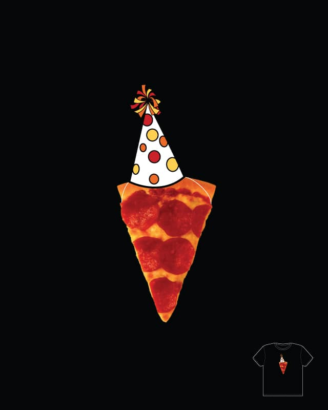 Pizza Party Time! by davidfromdallas on Threadless