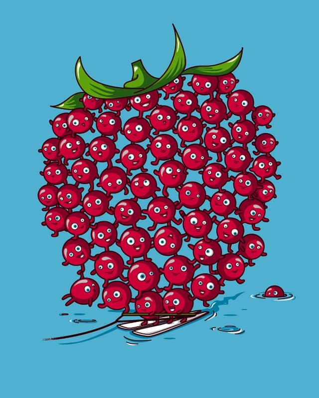 Raspberry formation by Recycledwax on Threadless