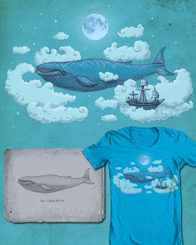 Once in a Blue Moon by igo2cairo on Threadless
