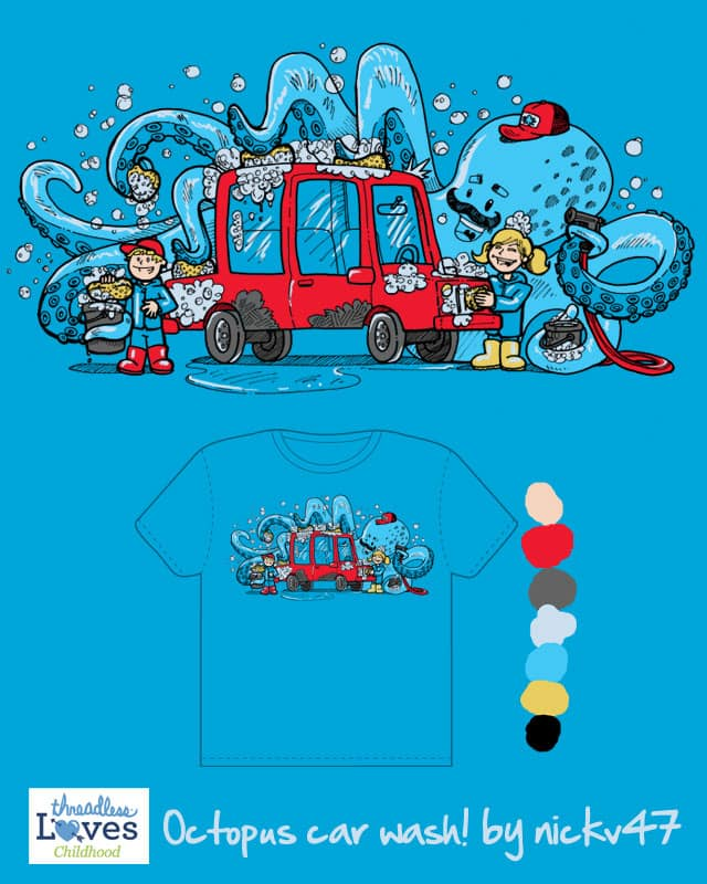 Octopus Carwash by nickv47 on Threadless