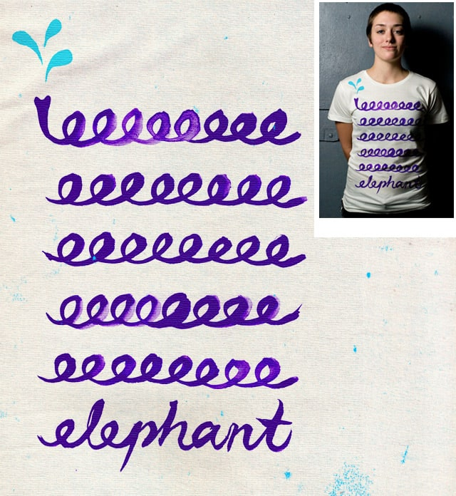 eeeeelephant by TangYauHoong on Threadless