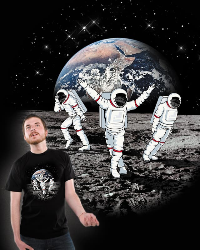 Let's Moonwalk! by lawrence loh on Threadless