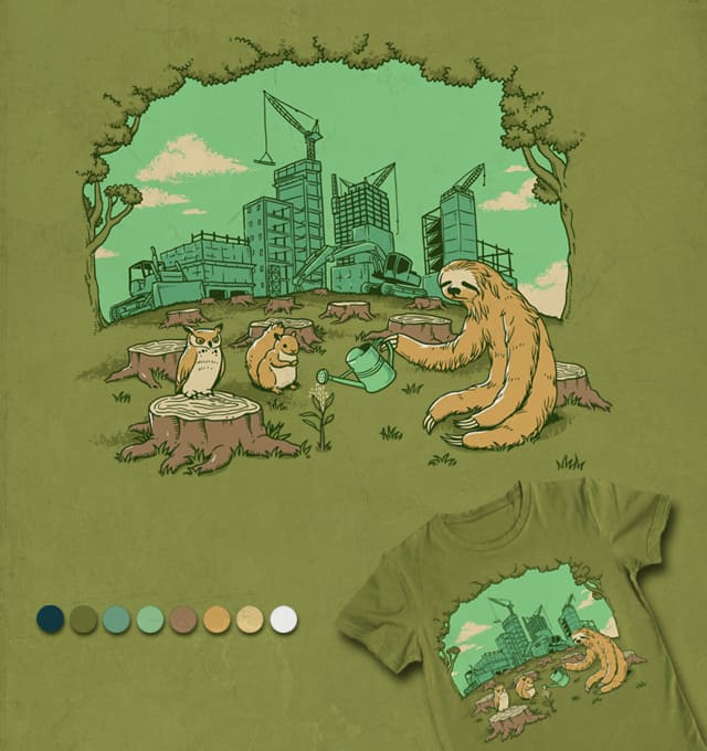 We Need A Home by ben chen on Threadless