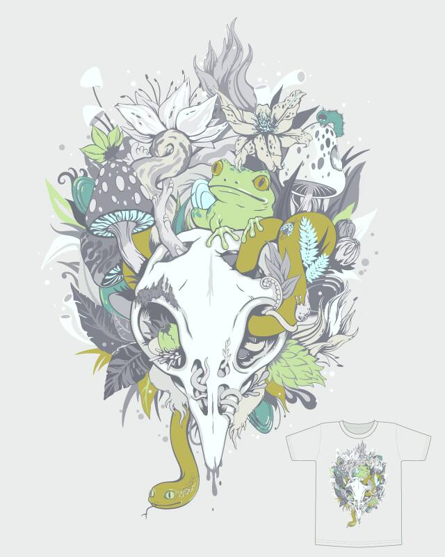 Calm Decay by zutto on Threadless