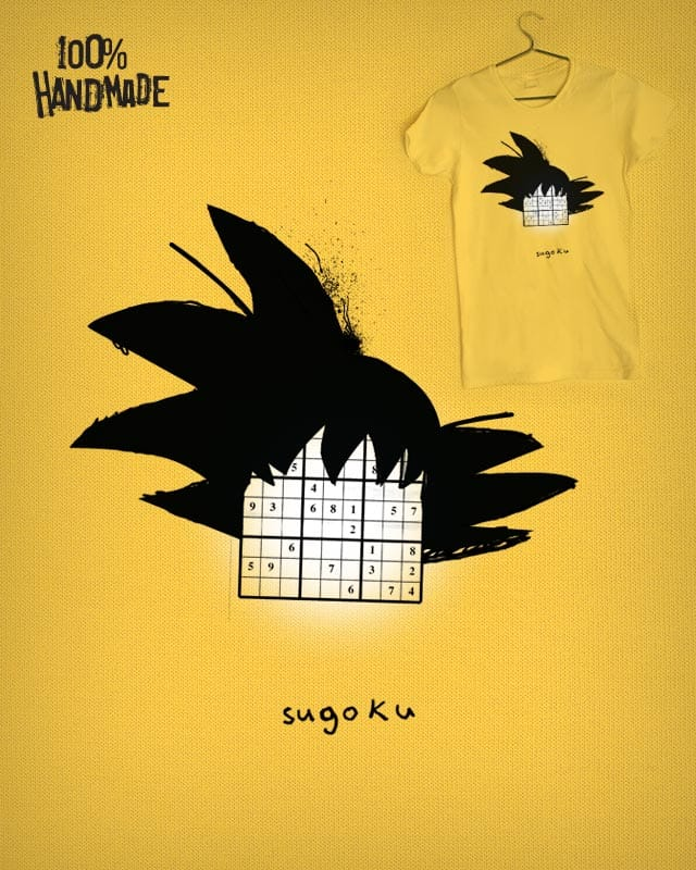 sugoku by Monkey X on Threadless