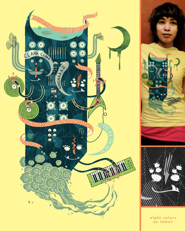Power Trio by againstbound on Threadless