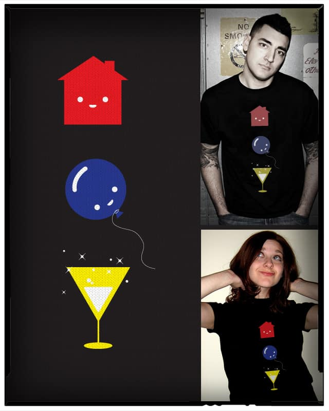 Haus Party by Monkey X on Threadless