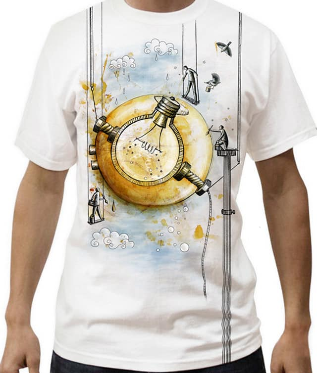 CREATING IN THE SKY by lixrakel on Threadless