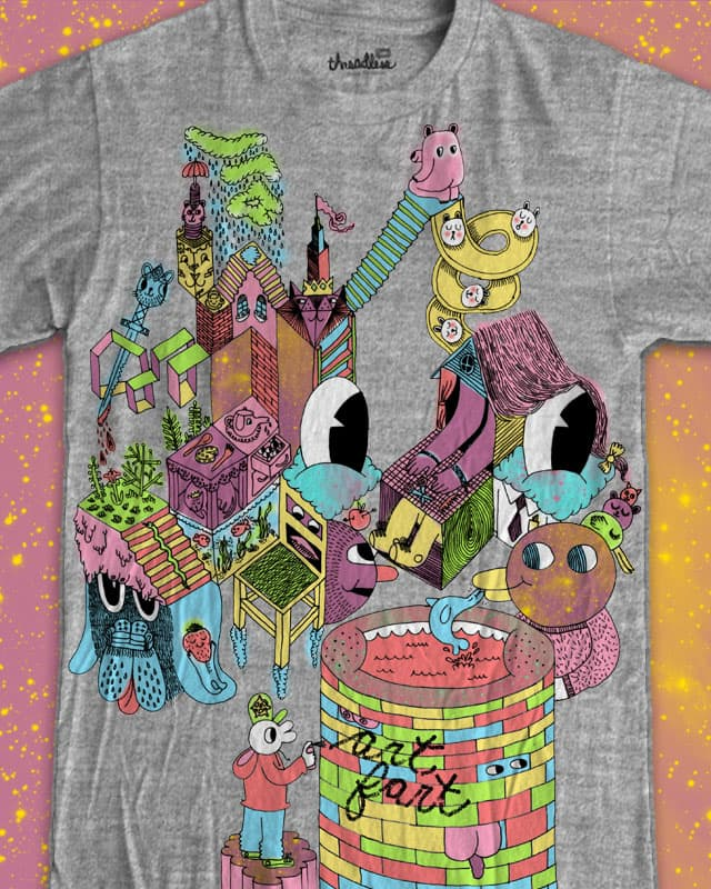 farth dimension by ginetteginette on Threadless