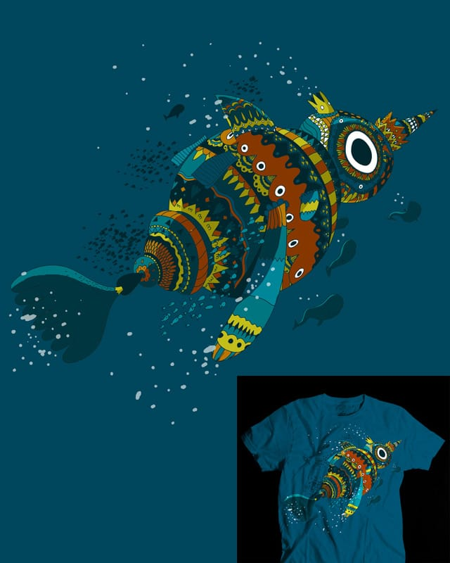 Fish King by Aphte on Threadless