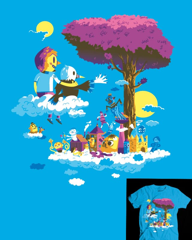 The cloud belvedere. by Aphte on Threadless