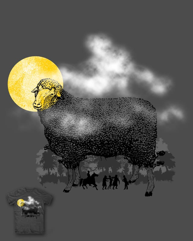 Looking for the black sheep by kooky love on Threadless