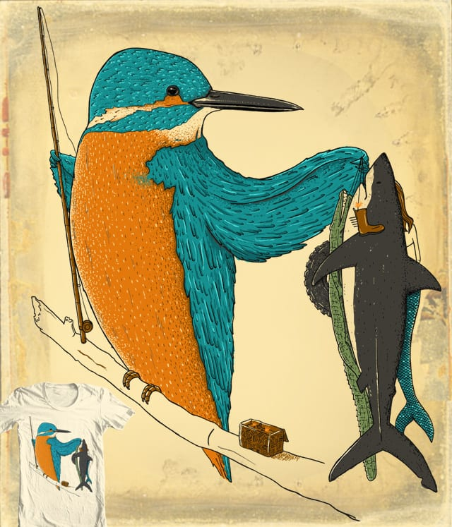 Kingfisher by Johnny Baboon on Threadless