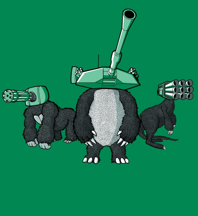 Brute Force Brigade by MEKAZOO on Threadless