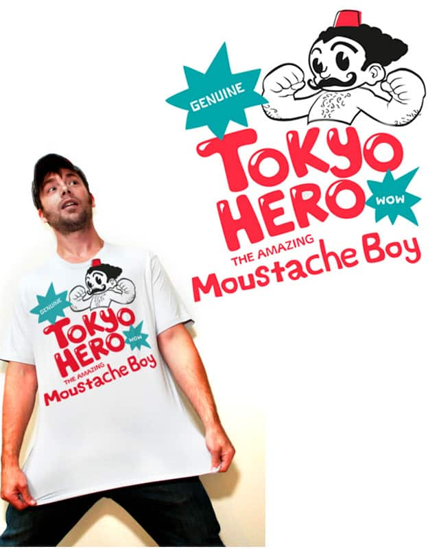 tokyo hero by jimmychan on Threadless