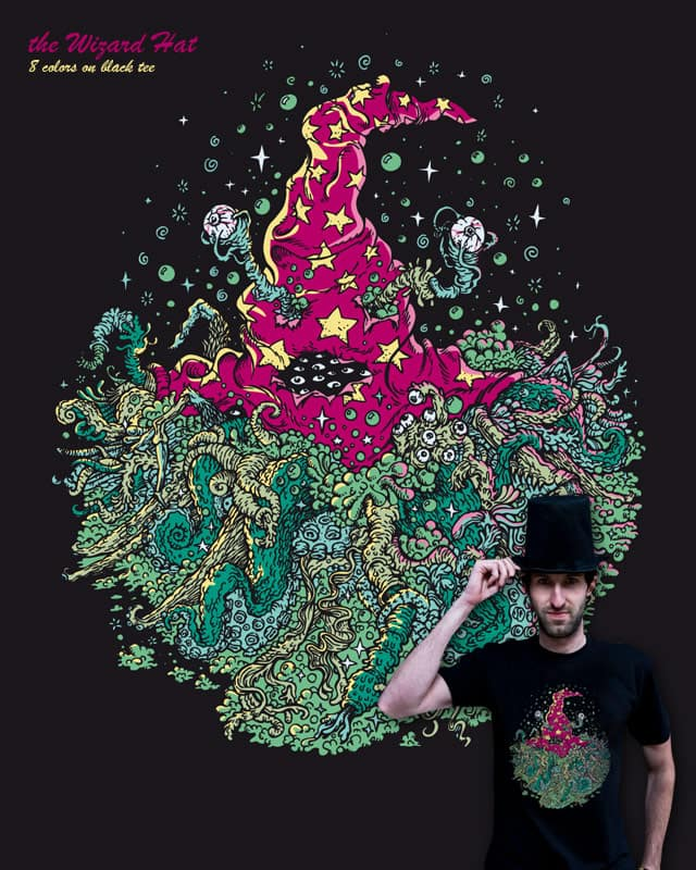the WIZARD HAT by badbasilisk on Threadless
