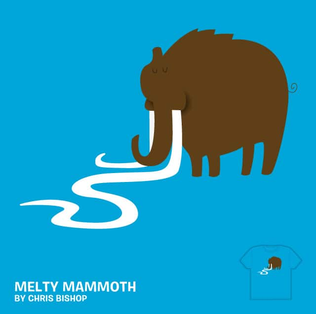 Melty Mammoth by chrisbishop on Threadless