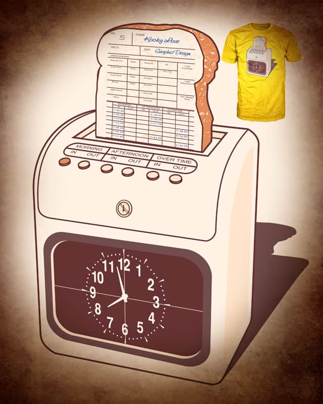 Daily Bread Recorder by kooky love on Threadless