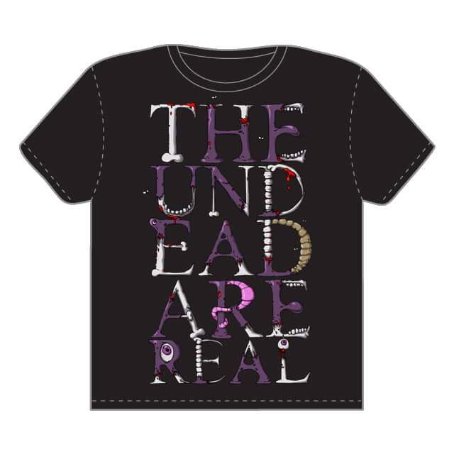 The Undead Are Real by Crusts on Threadless