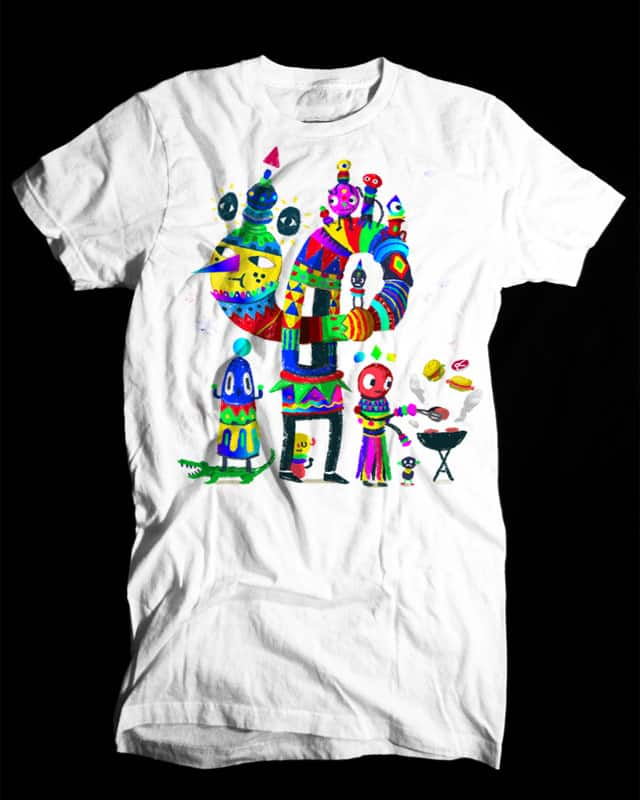 Strange Dudes by Aphte on Threadless