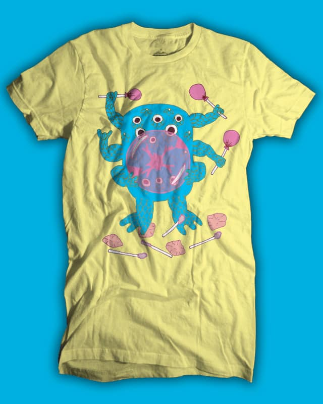 Bubble Monster by isawa on Threadless