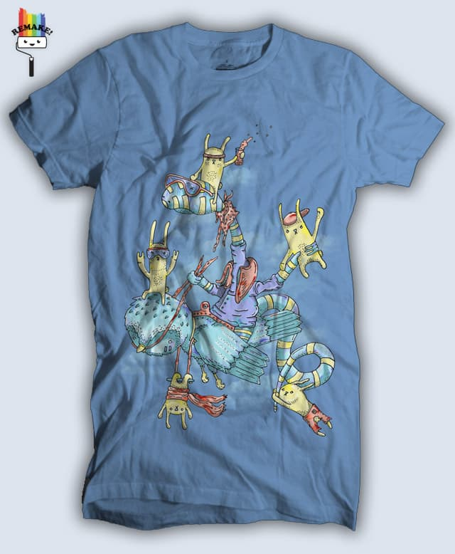 The new passengers by randyotter3000 on Threadless