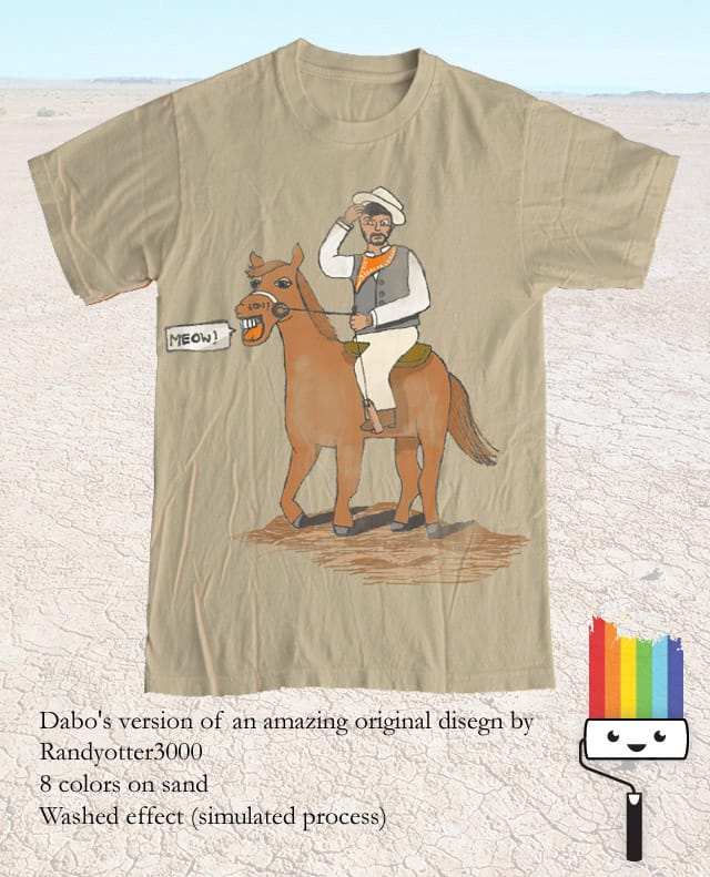 I didn't teach him to say it (dabo's remake) by daboagain on Threadless