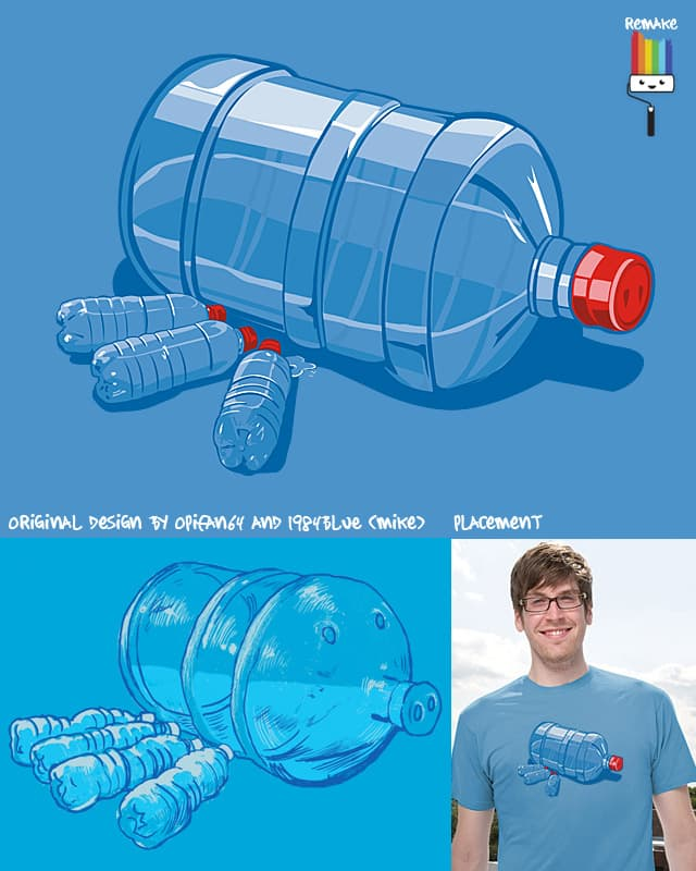 Water Hog (REMAKE) by rodrigobhz on Threadless
